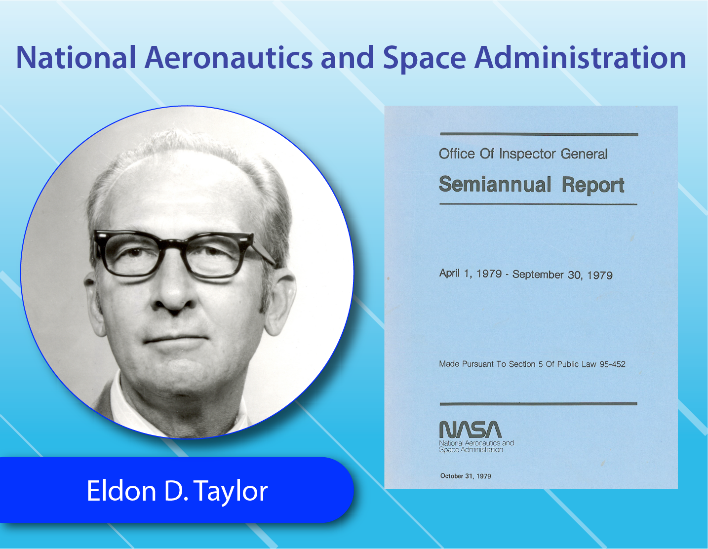 National Aeronautics and Space Administration - Eldon D. Taylor
